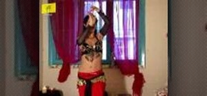 Add flair to your belly dancing with arm movements