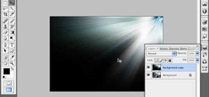 Simulate a ray of light in Photoshop