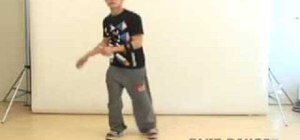 """Do a """"Floor Sweeper"""" or """"Out and Up"""" dance move"""