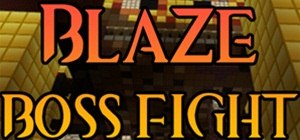 Blaze Boss in Minecraft