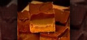 Bake a Millionaire's shortbread