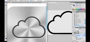Replicate the iCloud brushed aluminum icon