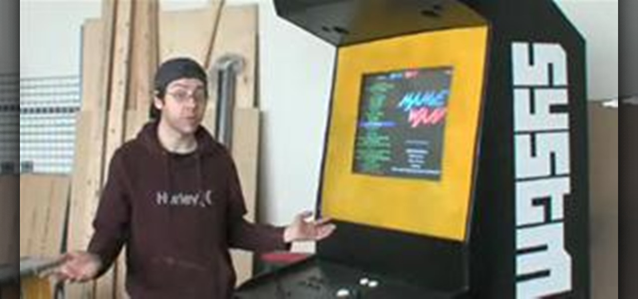 building a mame machine