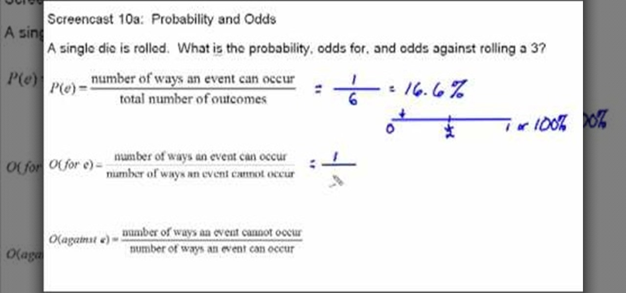 mathematical odds calculator