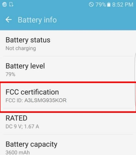 Filing Indicates a HUGE Battery on the New Samsung Galaxy S7