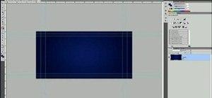 Create an Encore menu from scratch in Adobe Photoshop