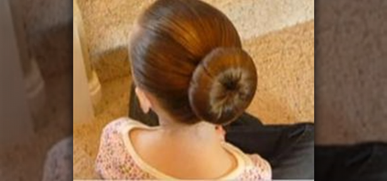 How To Make A Perfect Ballet Bun 171 Hairstyling Wonderhowto