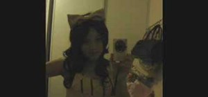 Make a giant bow headband