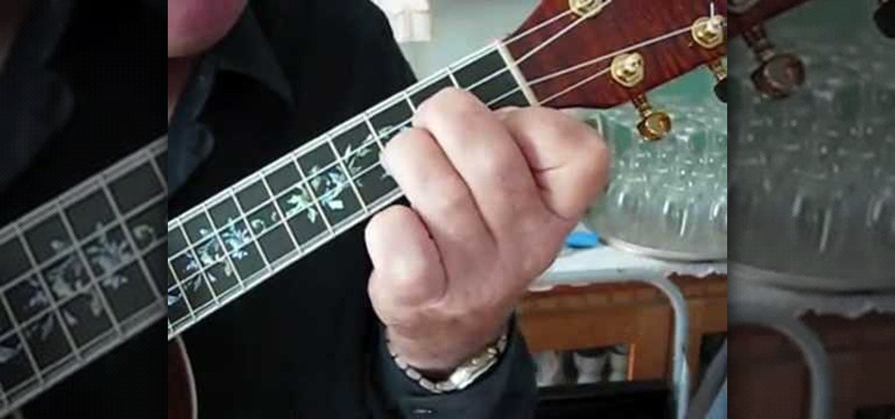 how to play unsteady on the ukalele