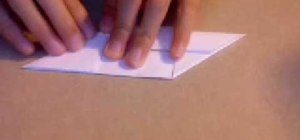 Origami a pinwheel hexahedron