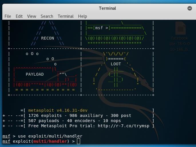 Why I Am Getting Multi/Handler Instead of Handler Only in Metasploit Window?