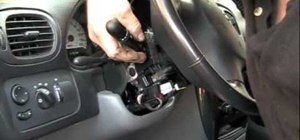 Change the turn signal switch on an '07 Chrysler minivan