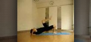 Come off the wall when doing a yoga headstand