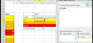 Use PivotTable to group data in Excel