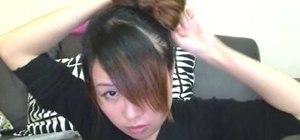 Use the bow hair style