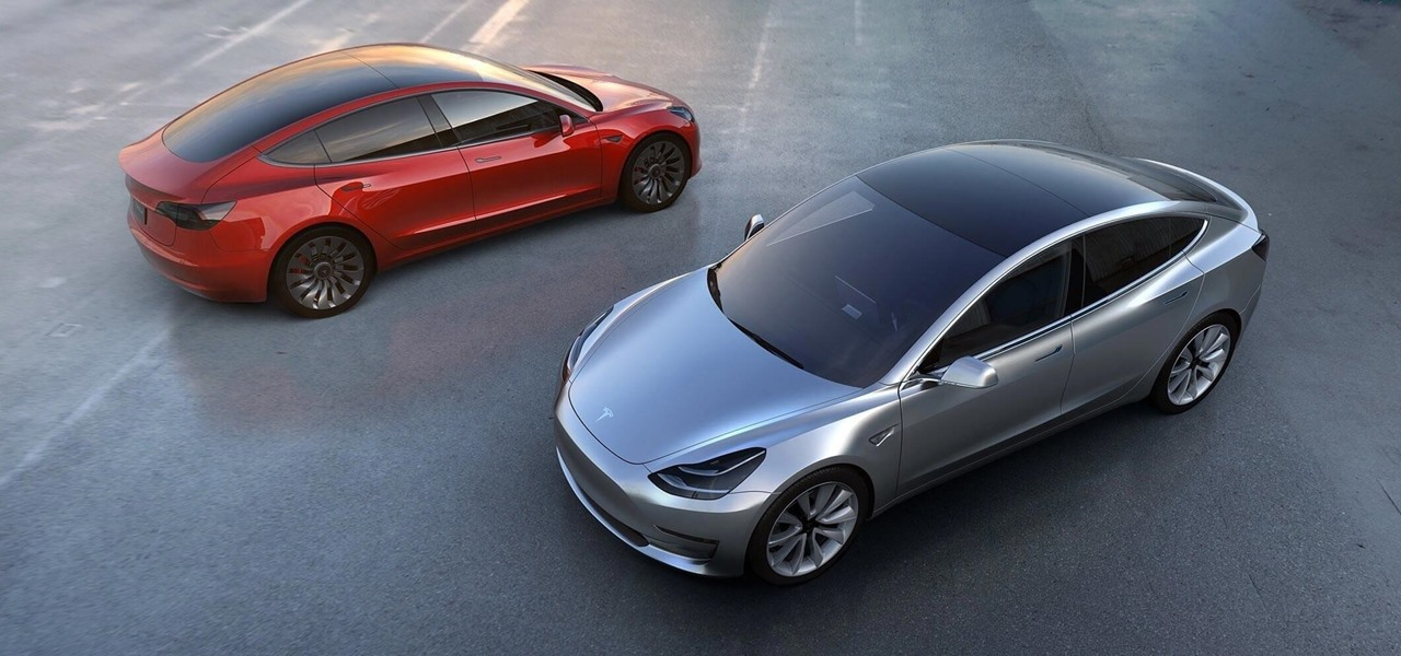 Elon Musk Gives Preview of Nearly Complete Tesla Model 3
