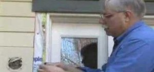 Install and insulate your exterior door