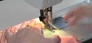 Sew a seam
