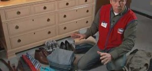 Organize your closet with tips from Lowe's