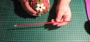 Make beautiful handmade Christmas ornaments