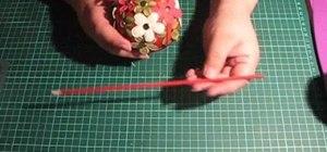 Make beautiful handmade Christmas ornaments
