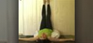 Do a yoga legs up the wall pose