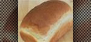 Bake a loaf of basic white bread