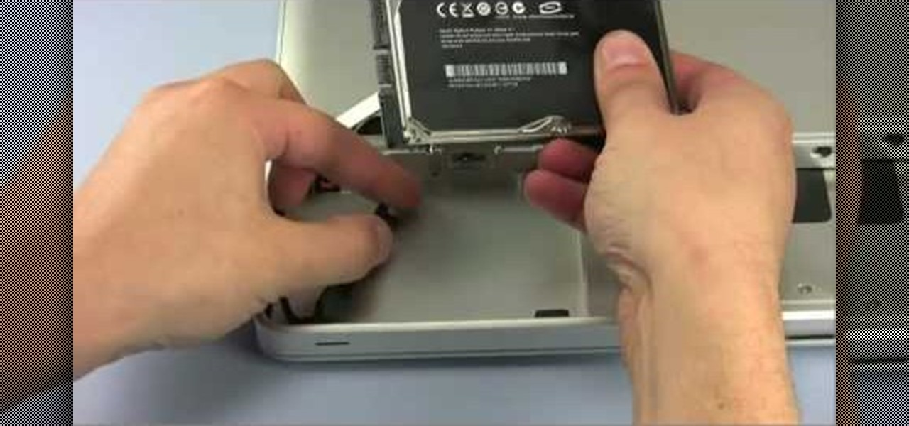 How to Replace a hard drive in a late 2008 MacBook Pro « Computer Hardware  :: WonderHowTo