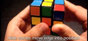 Solve a Rubik's Cube faster with F2L techniques