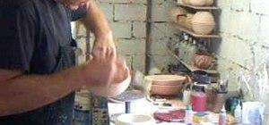 Dip bowls in a celadon glaze