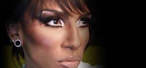 Create the Misty Maven drag queen makeup