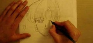 Draw an anime manga Sailor Pluto and Saturn