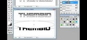 Create a vector logo from a bitmap logo in Photoshop