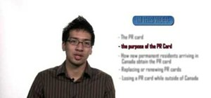 Get a Canadian Permanent Resident (PR) card