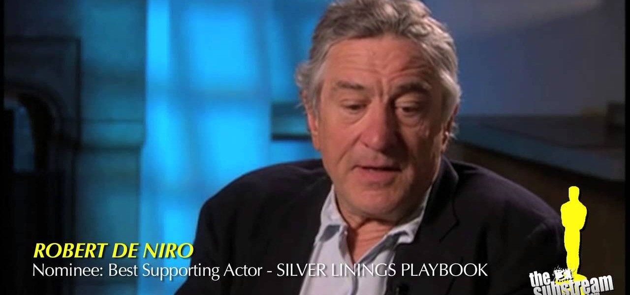 Robert De Niro - OSCAR 2013 | The VIDADIFH Show