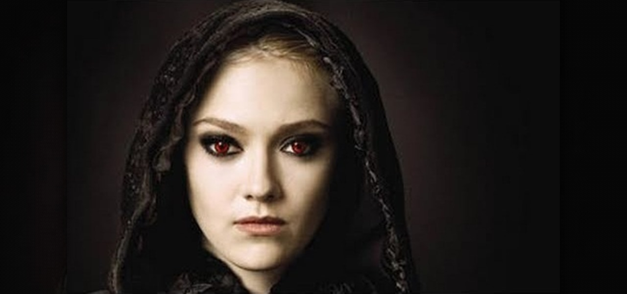 how to create jane volturis vampire makeup look from