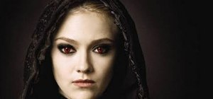 "Create Jane Volturi's vampire makeup look from ""Twilight"""