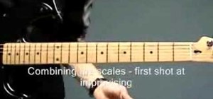 Play the Dorian scale on the guitar