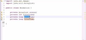 Make an animation loop in Java when game developing
