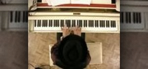 Play suspended two chords on the piano