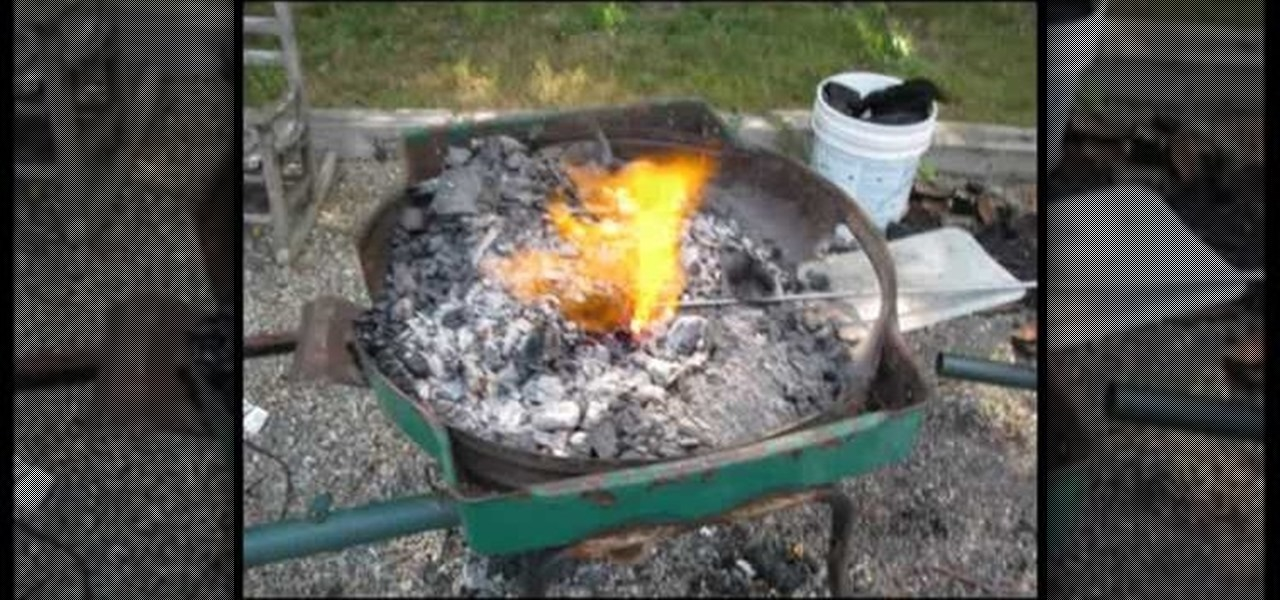 Backyard Forge how to create a blacksmith forge in your backyard easily