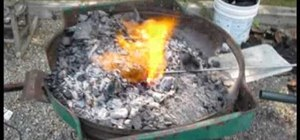 Create a blacksmith forge in your backyard easily