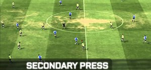 Perform advanced moves while defending in FIFA 11 on the PlayStation 3