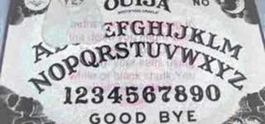 Use a Ouija board to talk to the dead