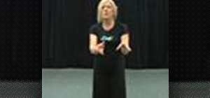Teach the sissone ballet move to 3-4 year old children