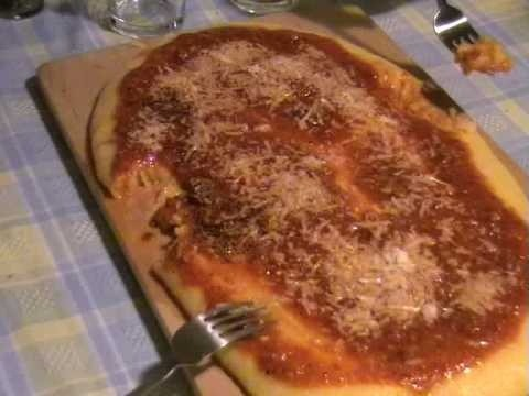 Make and eat polenta, the traditional way