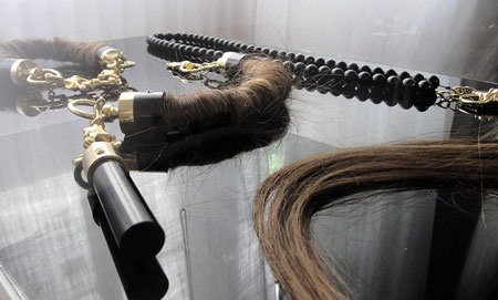 Jewelry Made With Hair and Dead People