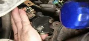 Replace the starter in a Saturn S-Series car