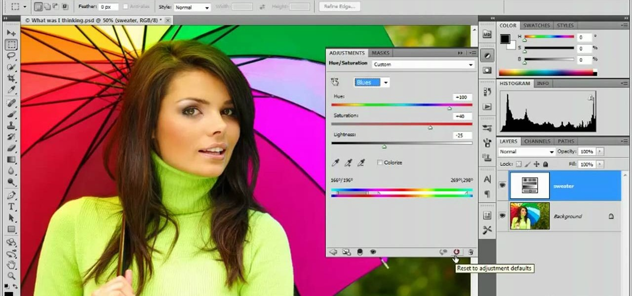 How to Use the Target Adjustment tool in Adobe Photoshop CS5 ...