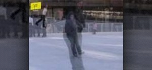 Ice skate with edges